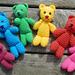 Rainbow Bear pattern