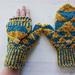 Fractal mittens pattern
