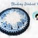 Blueberry Starburst Coaster pattern