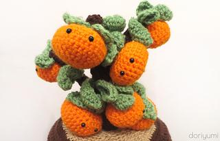 Ravelry Chinese New Year Clementine Tree Pattern By Doris Yu