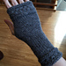 Fitted Fingerless Mitts Wrapped with a Cable pattern