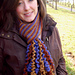 Indian Corn Scarf pattern