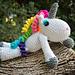 Rainbow Unicorn Niji Sanda pattern