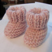 Bitty Baby Booties pattern