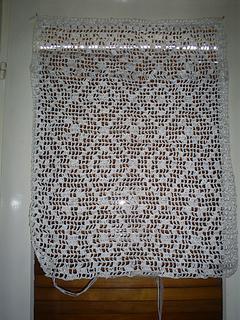 plastic bag curtain