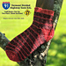 Divided Highway I-91S Cuff Down Socks pattern