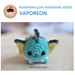 Mini Pokemon Vaporeon pattern