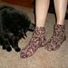Two Movie Slipper Socks pattern