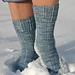 Snow Queen Sock pattern