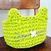 Cat O'Lantern Basket pattern