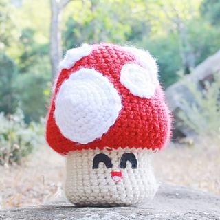 Mushroom Crochet Recipe Pattern - In the forest