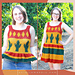 Desert Cactus Top & Dress pattern