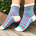 The Circus Socks pattern