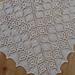 Rose Ribbons Shawl pattern