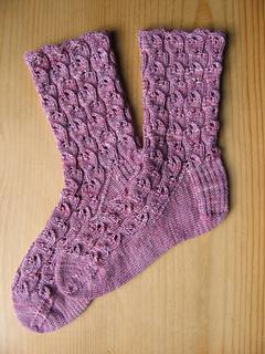 Bleeding Heart Lace Socks
