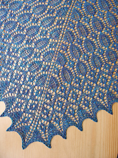 Forget-Me-Not Lace Shawl