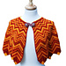 Flame-Tipped Shawl pattern