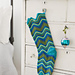 Ripple-Stitch Stocking pattern