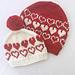 Hearts All Around Hat pattern