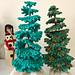 Evergreen Tabletop Tree pattern