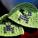 Minecraft Creeper scull hat pattern