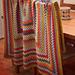 Vintage inspired Orla Kiely Granny Blanket pattern