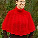 Little Red Riding Capelet pattern