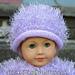 American Girl Doll Fur Hat pattern