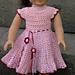 American Girl Doll Apple Blossom Dress pattern
