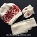 American Girl Doll Winter Fun Mittens and Scarves pattern