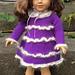 American Girl Doll Mohair Glamour Dress pattern