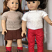 American Girl Doll Short Sleeve Lace Top pattern