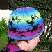 Dragon Curve Fractal Hat pattern
