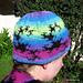 Dragon Curve Fractal Hat pattern