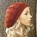 Chunky Rolled Brim Ribbed Beret pattern