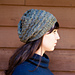 Lovely Chevron Slouchy Beanie pattern