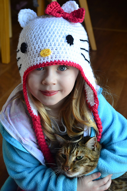 Little Hello Kitty Amigurumi, English Pattern | Hello kitty ... | 640x427