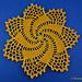 Pretty Pinwheel Doily pattern