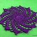 Easy Spiral Doily pattern