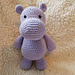 Heulwen The Hippo pattern