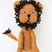 Lenny the Lion pattern