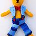 Billy Bear soft toy pattern