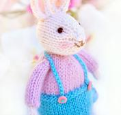Easter rabbit bunny amigurumi