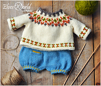 Pretty Nordic-Style Teddy Outfit