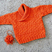 busy baby boy sweater & hat pattern