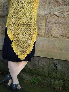 Jessie Lambdin shawl
