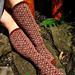 Garden Gate Socks pattern