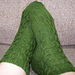 2/2/2 Right-Ribbed Cable Socks pattern