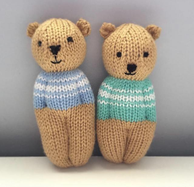 Teddy Aran Sweater | Knitted teddy bear, Teddy bear clothes, Teddy ... | 620x640