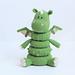 Dragon Stacking Rings toy pattern